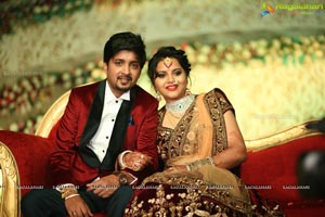 Vishnu Vardhini and Anup Chand Wedding