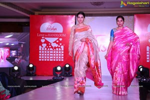 Trisha Love for Handloom Fashion Show at Taj Krishna