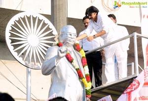 Pawan Kalyan Ambedkar Tribute
