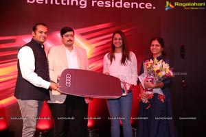 Audi Hyderabad Throws Launch Party