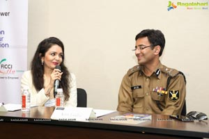 Celeb Super Cop Amit Lodha Talks at YFLO Meet