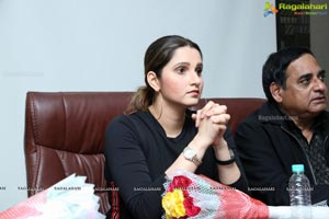 Ms Sania Mirza Inaugurates Tennis Court at OMC