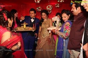 Sahil Gulati-Priyanka Khanna Engagement