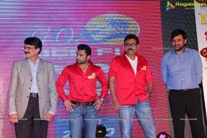 CCL4 Telugu Warriors Logo Launch