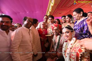Keshav Reddy Veena Reddy Wedding Marriage