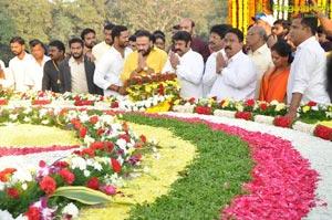 NTR Ghat NTR Death 22nd Anniversary