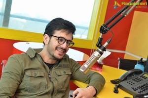 Akhil Akkineni at Radio Mirchi