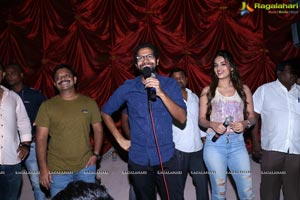 Mr. Majnu Team Theatre Coverage