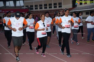 Run for a Girl Child 3rd Edition of Seva Bharathi