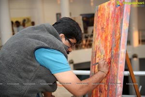 Art Exhibition Camp Library 2019 at State Art Gallery