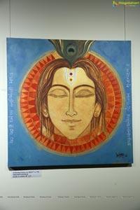 Unmasking Krishna - Art Exhibition By Srinivasa Babu Angara