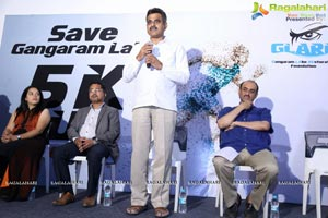 Save Gangaram Lake Press Meet