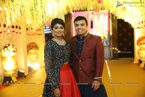 Ambica Krishna Grandson Wedding Reception