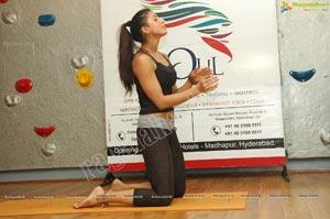 Deepika Mehta Hot Yoga Poses