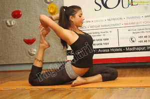 Deepika Mehta Hot Yoga Poses