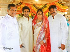 Ram Charan-Upasana Wedding Festivities at Domakonda Fort