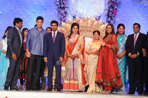 Ram Charan Wedding Reception Photos