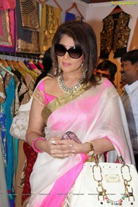 Shreedevi Chowdary inaugurates Akritti Elite Exhibition