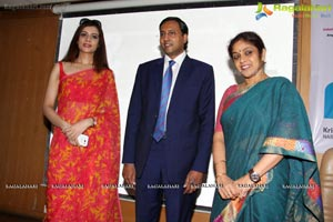 Amita Piyush Motwani speaks at Usha Lakshmi Breast Cancer Foundation