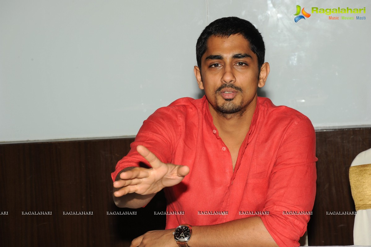 Siddharth Interview on Something Something
