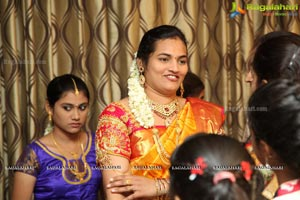Sobhitha Half Saree Ceremony