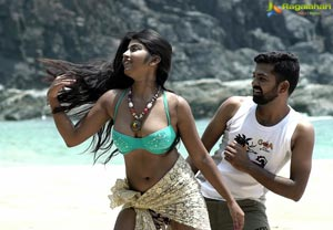 Moni Telugu Cinema Stills