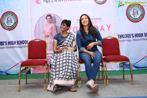 Catherine Tresa participates in Intl Yoga Celebrations