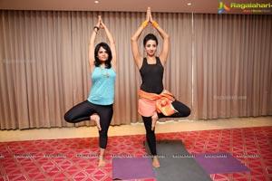 Yoga Demostration on The Occasion of Yoga Day