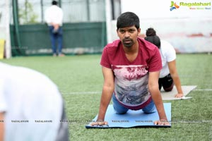 Photos - iFit Studio Yoga Day Celebrations 2018