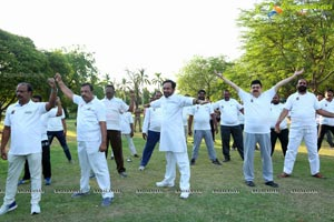 4th International Yoga Day at Sanjeevaiah Park