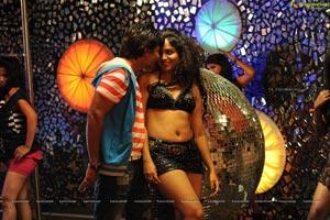 High Definition Love Cycle Hot Pub Song Stills Cast Mangam Srinivas