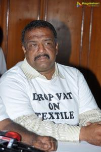 Textile Trade Bandh Press Meet