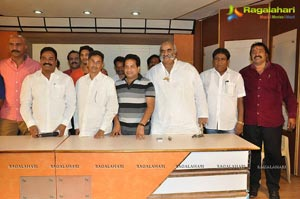Telangana Association Press Meet