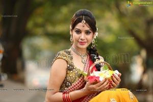 Diksha Panth in Traditional Dress