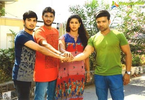 Lavanya with Love Boys