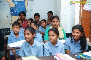 Allu Sirish Pega Teach For Change