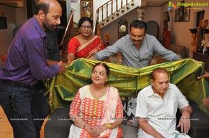 Naresh Met Superstar Krishna, Vijayanirmala garu