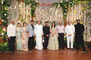 Venkatesh Daughter Asritha - Vinayak Reddy Wedding Reception
