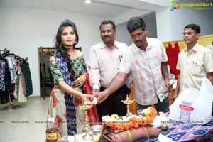 Tara Chowdhury Launches Ikat Art Mela at State Art Gallery