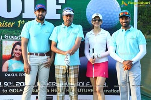 Rakul & Kapil Dev At Gold Fundraiser Charity Event
