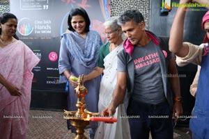 One Lakh Hands For Mom Curtain Raiser