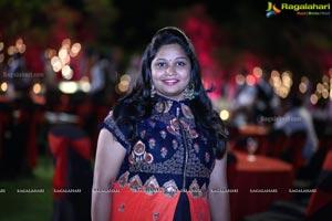 Bhargav Amrutha Wedding Sangeet
