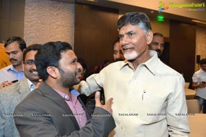 Chandra Babu Naidu Business Meet