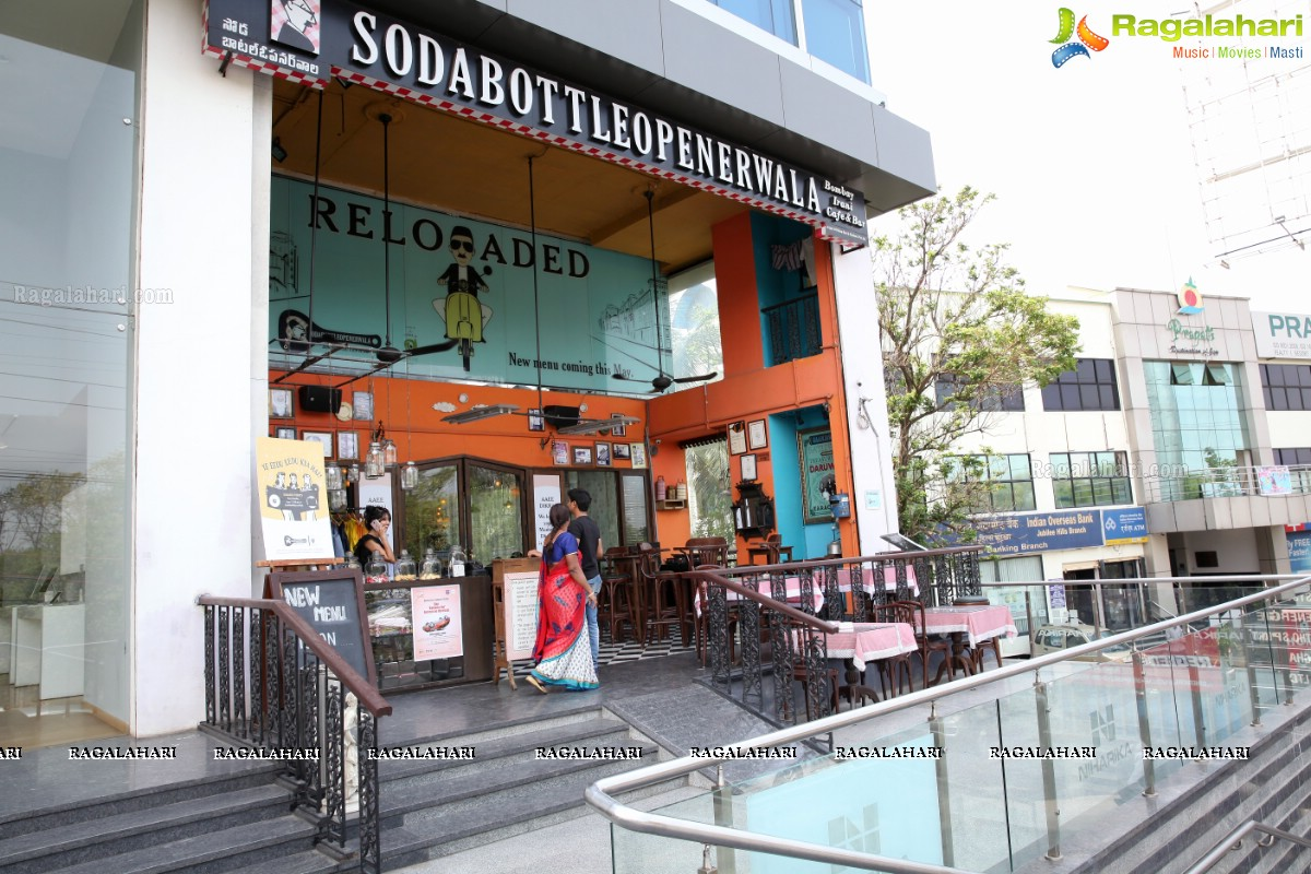 ragalahari coverage the pret box at the sodabottleopenerwala hyderabad. Black Bedroom Furniture Sets. Home Design Ideas