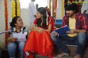 Raju Gadu Working Stills