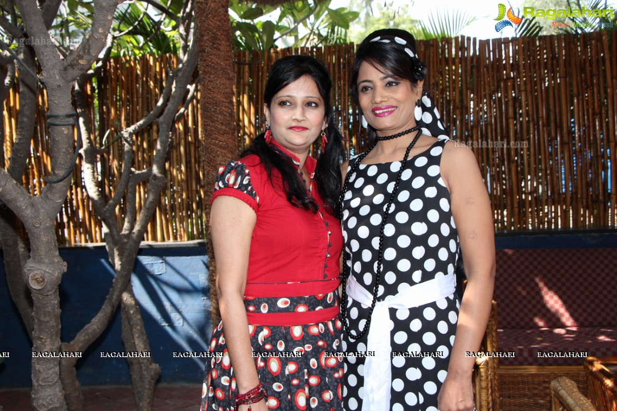 Phankaar s Retro Theme Party  Polka Dots  at Heart Cup Cafe  Hyderabad. Exclusive Coverage  Phankaar s Retro Theme Party  Polka Dots  at