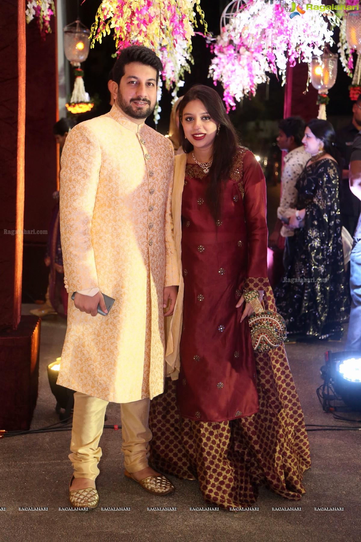 Celebs At Anam Mirza Wedding Ceremony
