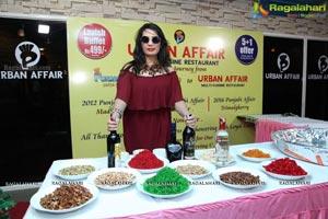 Urban Affair Cake Mixing Ceremony