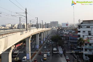 Hyderabad Metro Rail Trail Run