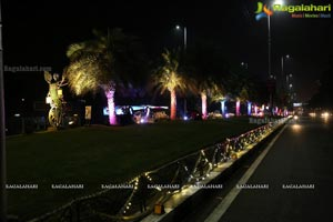 Hyderabad Ivanka Lighting Show